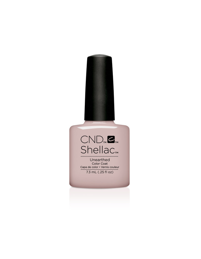 SHELLAC UV Color Coat .25oz - NUDE - Unearthed #92151