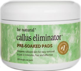 Be Natural Callus Eliminator Pre-Soak Pads