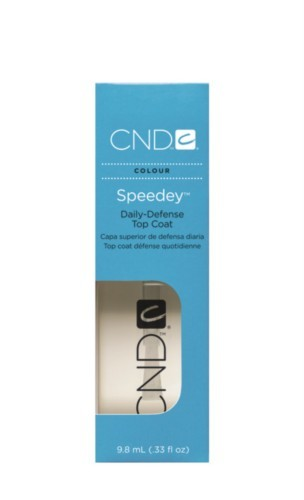 CND Speedey Daily-Defense Top Coat, .33oz
