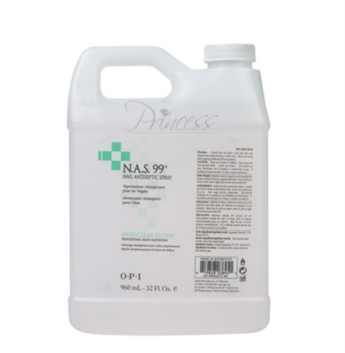 OPI N.A.S 99 Nail Cleasing Solution, 4-Quart Value Pack