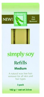 Clean+ Easy Simply Soy Wax Refill - Medium Cartridges, 3 Pack