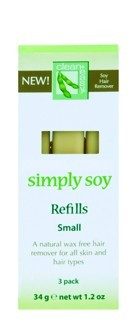 Clean+ Easy Simply Soy Wax Refill - Small Cartridges, 3 Pack