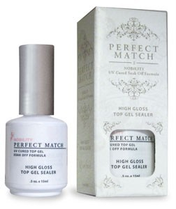PERFECT MATCH - High Gloss Top Gel Sealer 0.5oz PMT02