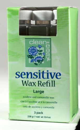 Clean Easy Sensitive Wax Refill LARGE 3 pack