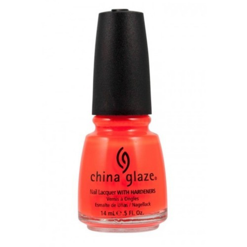China Glaze Lacquer ORANGE KNOCKOUT .5 oz #70641