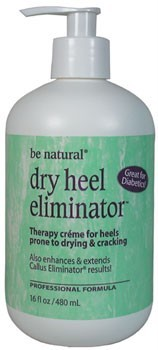 Be Natural Dry Heel Eliminator 16 oz