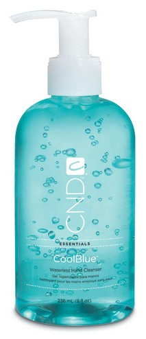 CND CoolBlue, Waterless Hand Cleanser 8 oz