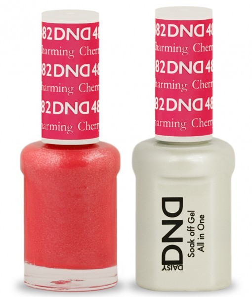 DND Duo Gel - G482 CHARMING CHERRY