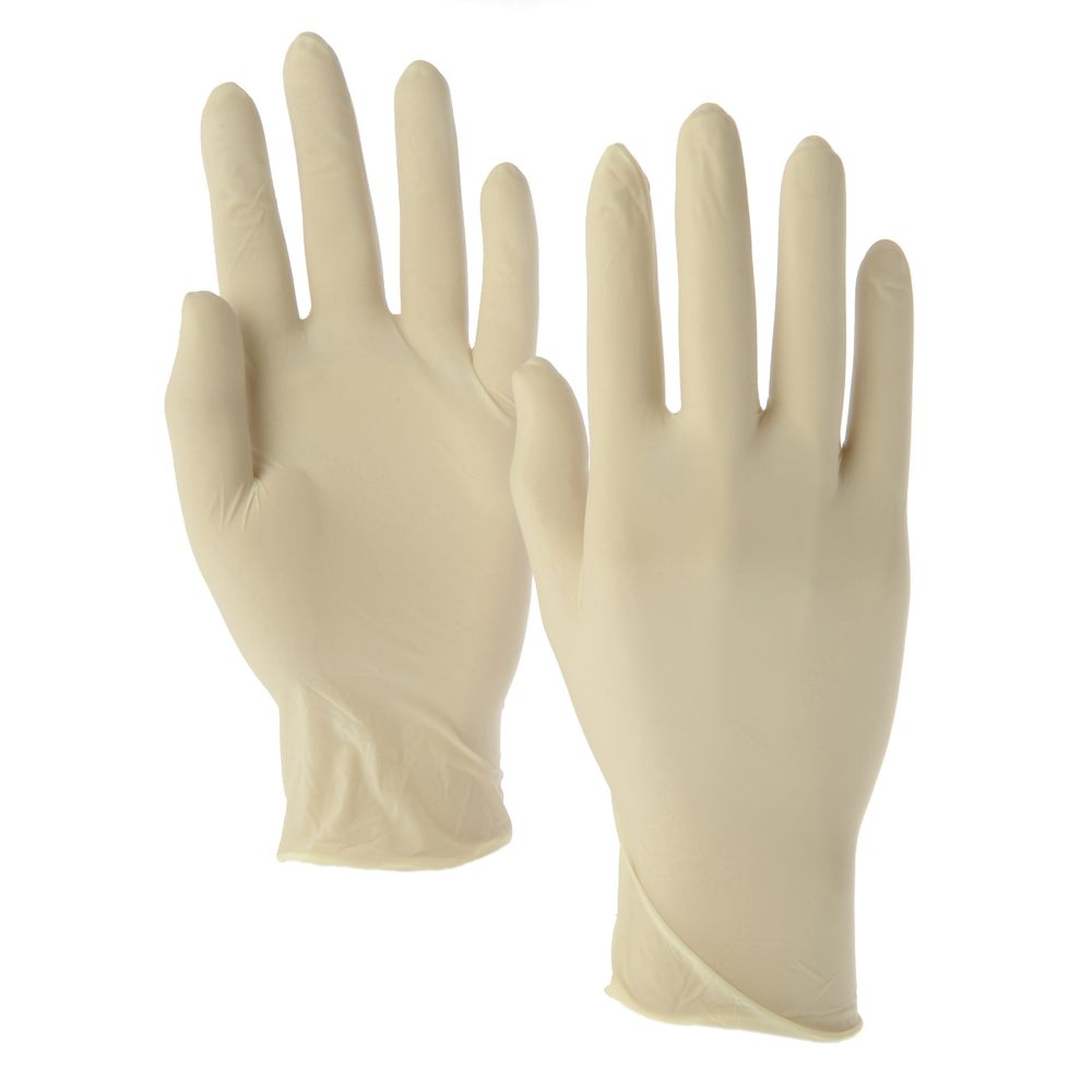 LATEX SMALL POWDER FREE GLOVES - Case/10boxes