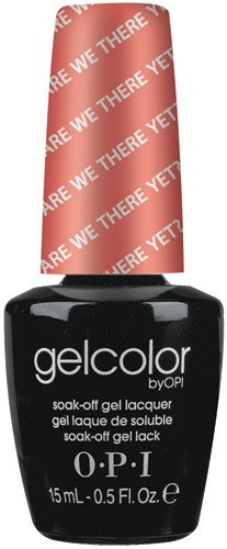 OPI GelColor - #GCT23 - Are We There Yet