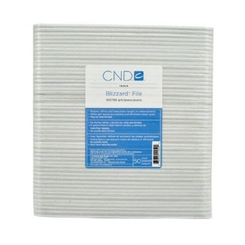 CND Blizzard File 100/180 grit (pack of 50