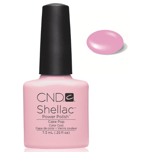 SHELLAC UV Color Coat - CAKE POP .25 oz, 09859