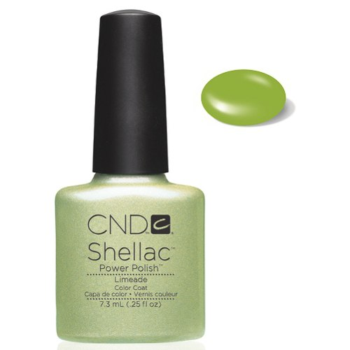 SHELLAC UV Color Coat - LIMEADE .25 oz, 09858