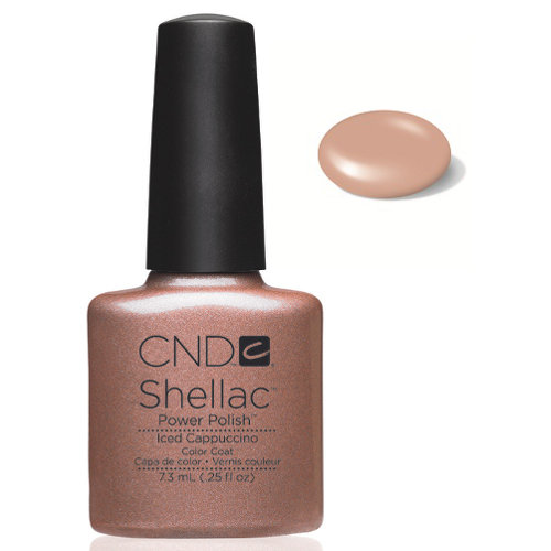 SHELLAC UV Color Coat - ICE CAPPUCCINO .25 oz, 40503