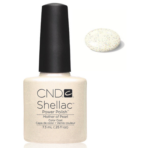 SHELLAC UV Color Coat - MOTHER OF PEARL .25 oz, 40520