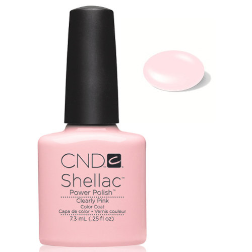 SHELLAC UV Color Coat - CLEARLY PINK .25 oz, 40523