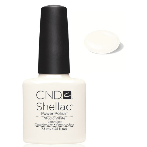 SHELLAC UV Color Coat - STUDIO WHITE .25 oz, 40526