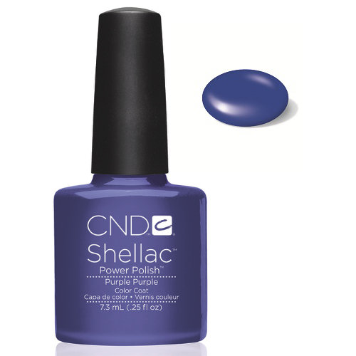 SHELLAC UV Color Coat - PURPLE PURPLE .25 oz, 40530