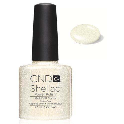 SHELLAC UV Color Coat - GOLD VIP STATUS .25 oz, 40536