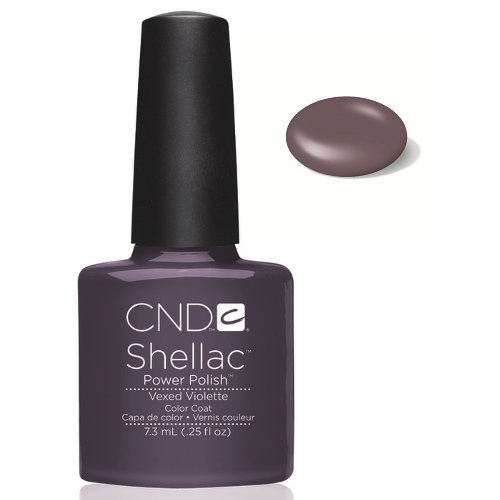 SHELLAC UV Color Coat - VEXED VIOLETTE .25 oz, 40545