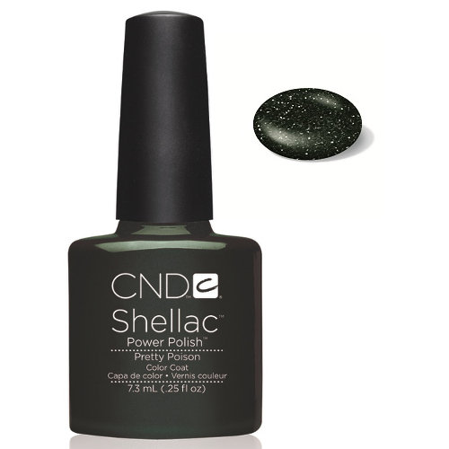 SHELLAC UV Color Coat - PRETTY POISON .25 oz, 40547