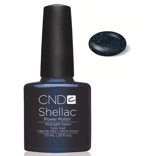 SHELLAC UV Color Coat - Midnight Swim .25 oz, 40548