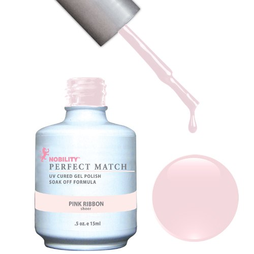 PERFECT MATCH - Gel Polish + Lacquer, PINK RIBBON PMS08