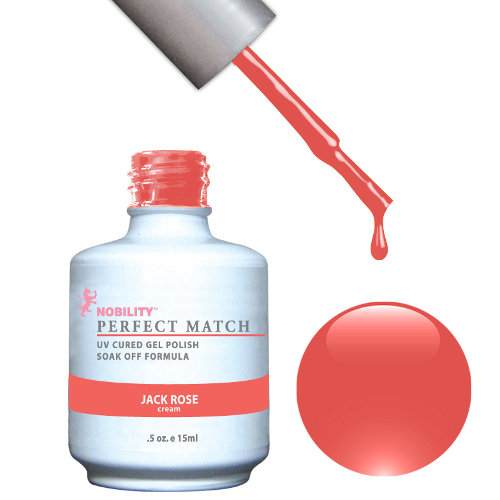 PERFECT MATCH - Gel Polish + Lacquer, JACK ROSE PMS11