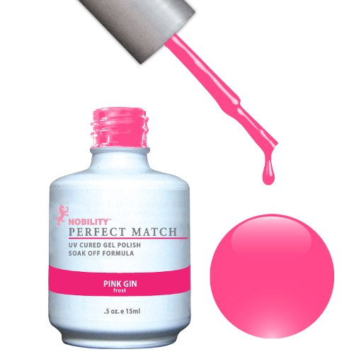 PERFECT MATCH - Gel Polish + Lacquer, PINK GIN PMS26