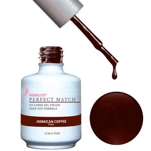 PERFECT MATCH - Gel Polish + Lacquer, JAMAICAN COFFEE PMS32