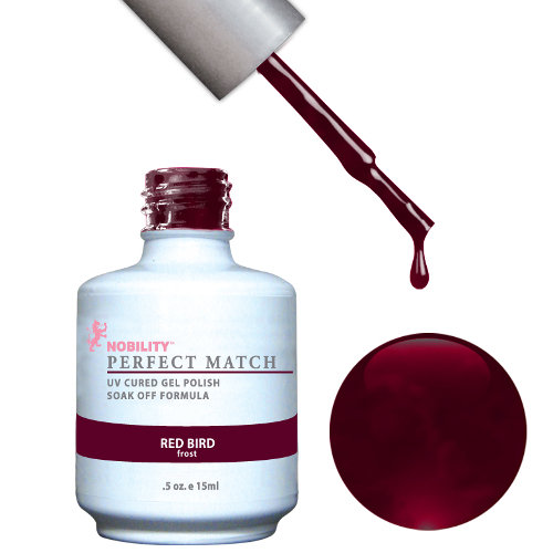 PERFECT MATCH - Gel Polish + Lacquer, RED BIRD PMS33