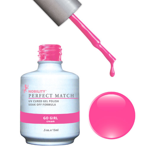 PERFECT MATCH - Gel Polish + Lacquer, GO GIRL PMS37