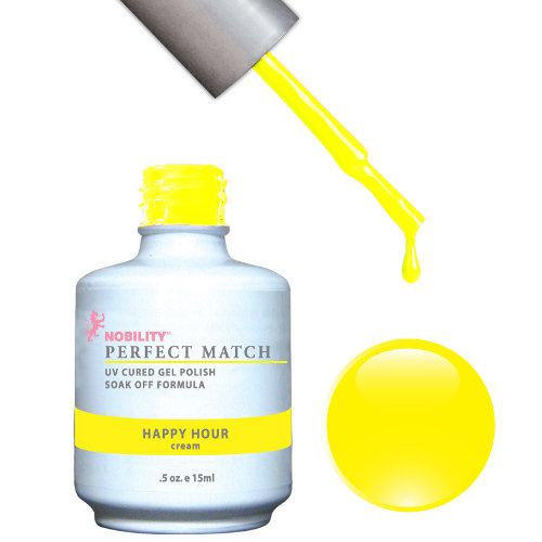 PERFECT MATCH - Gel Polish + Lacquer, HAPPY HOUR PMS39