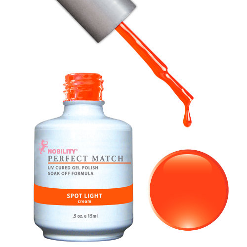 PERFECT MATCH - Gel Polish + Lacquer, SPOT LIGHT PMS46