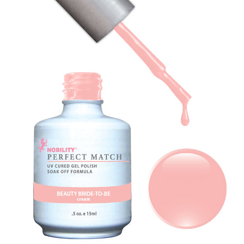 PERFECT MATCH - Gel Polish + Lacquer, BEAUTY BRIDE-TO-BE PMS50
