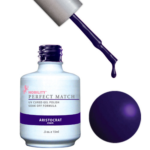 PERFECT MATCH - Gel Polish + Lacquer, ARISTOCRAT PMS77