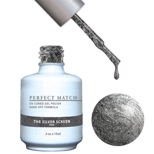 PERFECT MATCH - Gel Polish + Lacquer, THE SILVER SCREEN PMS80