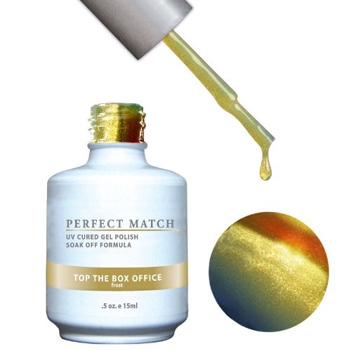 PERFECT MATCH - Gel Polish + Lacquer, TOP THE BOX OFFICE PMS82