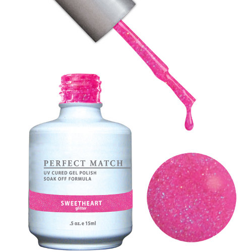 PERFECT MATCH - Gel Polish + Lacquer, SWEETHEART PMS96