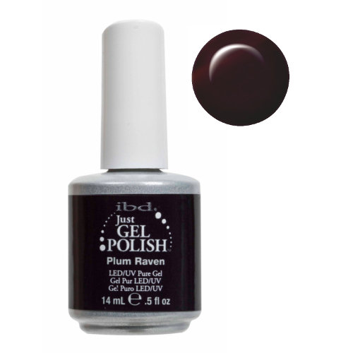 IBD Just Gel Polish - Plum Raven .5 oz #56506