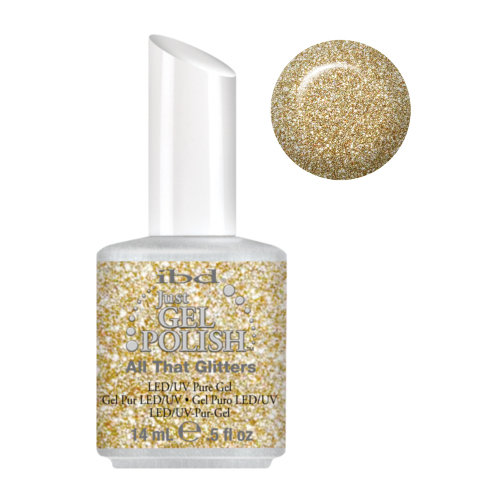 IBD Just Gel Polish - All That Glitters .5 oz #56540