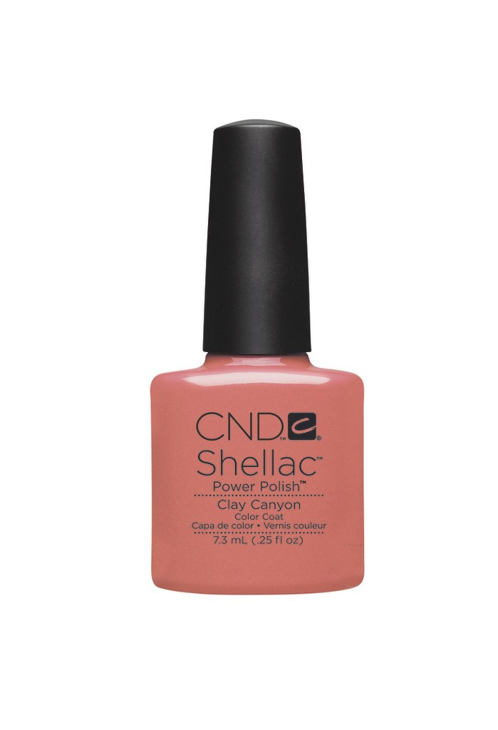 SHELLAC UV Color Coat - Clay Canyon .25 oz, 90541
