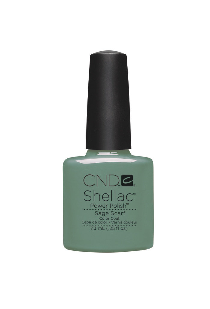 SHELLAC UV Color Coat - Sage Scarf .25 oz, 90545