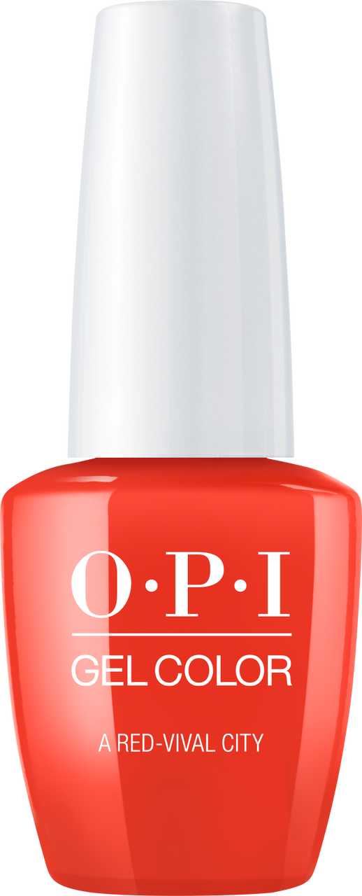 OPI GelColor - Lisbon - A Red-vival City - #GCL22