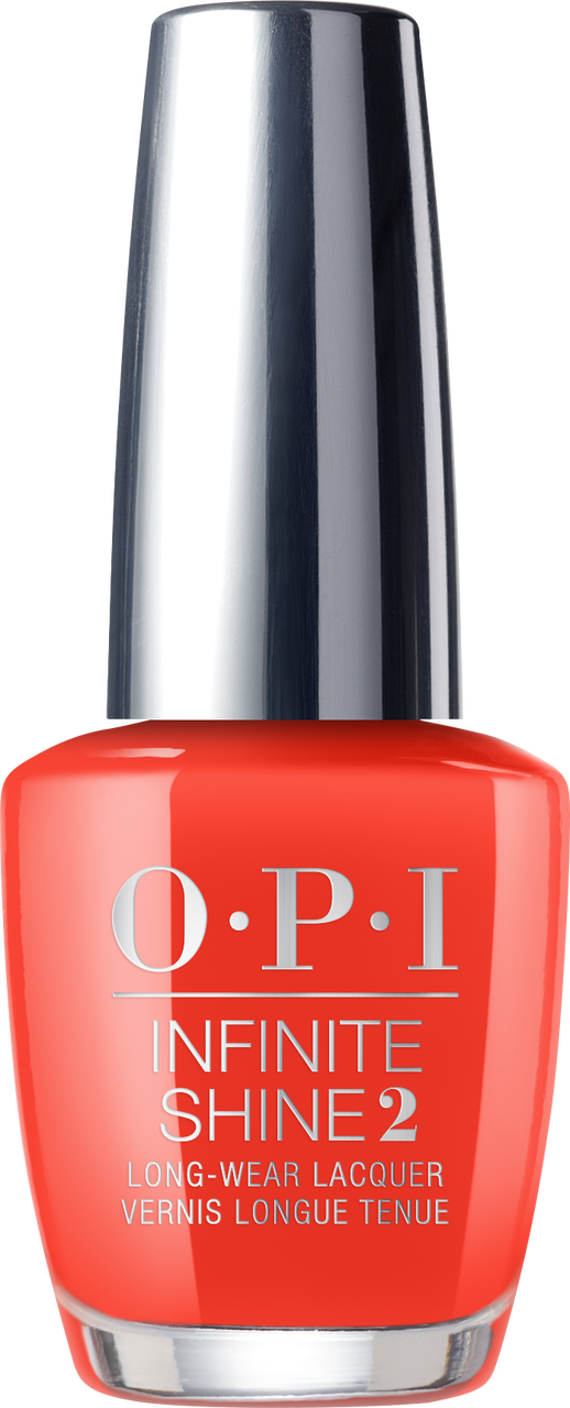 OPI Infinite Shine - Lisbon - #ISLL22 - A Red-vival City