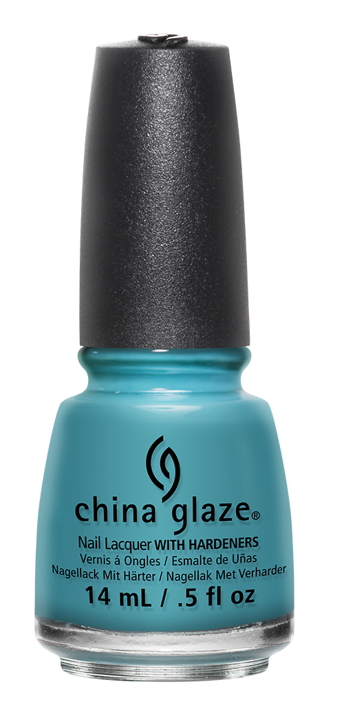 China Glaze Lacquer RAIN DANCE THE NIGHT AWAY .5 oz #82650