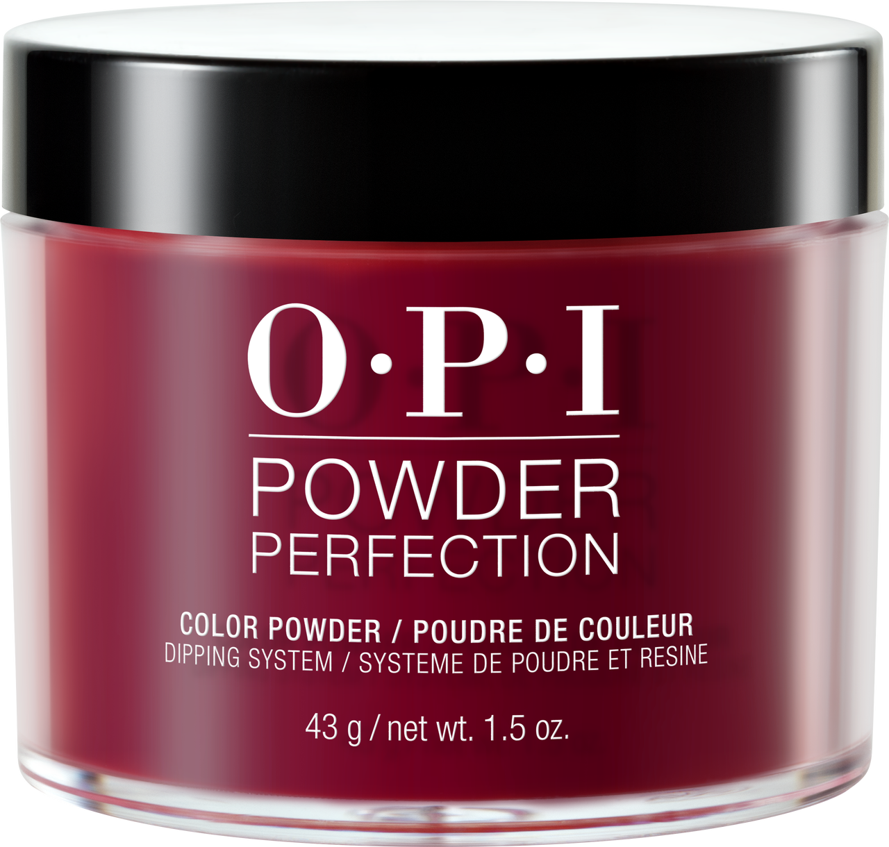 30% OFF - OPI Dipping Color Powders - Malaga Wine 1.5oz #DPL87