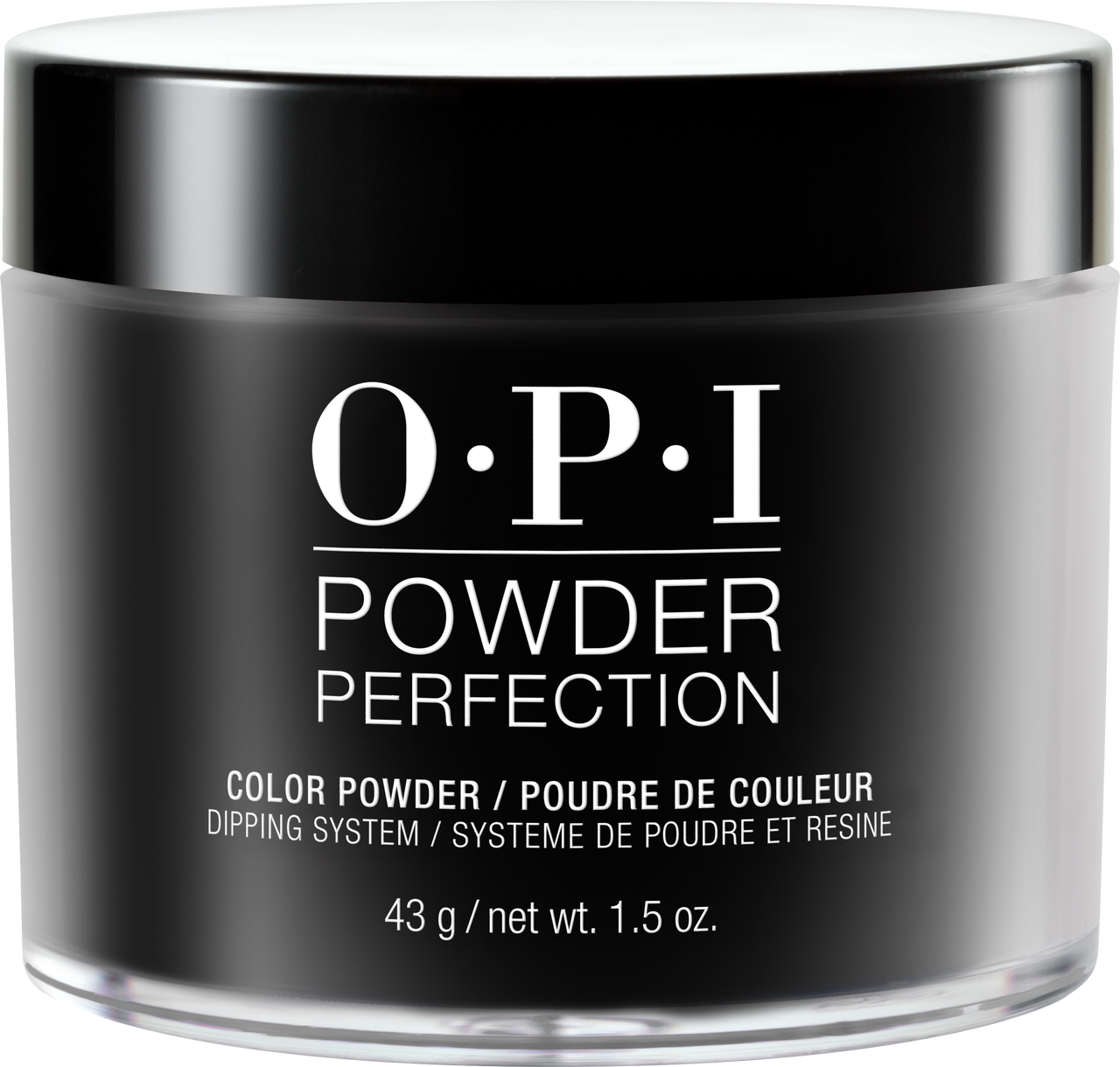 30% OFF - OPI Dipping Color Powders - Black Onyx 1.5oz #DPT02