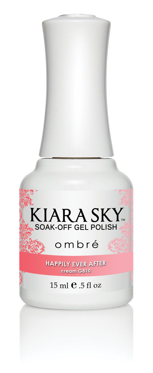 Kiara Sky Ombre Color Changing Gel Polish, Happily Ever After .5oz G810