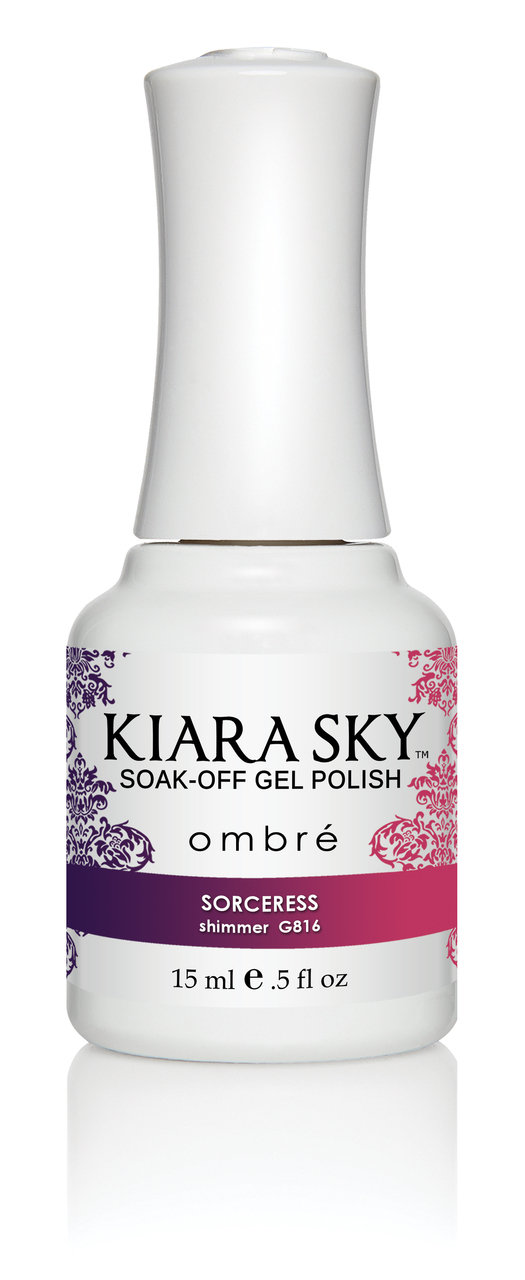 Kiara Sky Ombre Color Changing Gel Polish, Sorceress .5oz G816